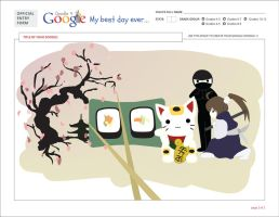 Doodle4Google: Best Day Ever by HawkStripeh