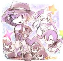 Pleasant friends by 6umei