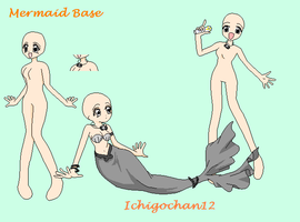 Mermaid Melody Base by ichigochan12