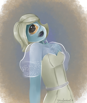 Ulexite: Gemsona requested by someone on SU amino by Vocaloidevil
