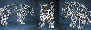 Twist Tie Bear by CentiumCuspis