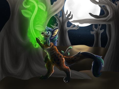 green magic by lucifers-roomate