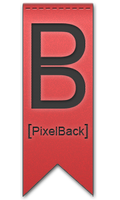 PixelBack design's logo by Mitch-94
