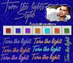 +Turn the lights by Fugitive-In-My-Heart