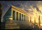 The Temple of Artemis by Pervandr