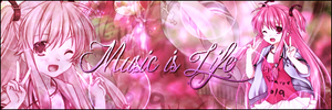 Music is Life Singnature by AomiNaito