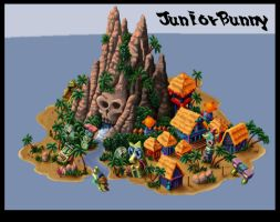 crash bandicoot map 1 by juniorbunny