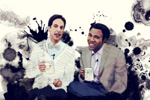 Troy and Abed in the Morning by k80soccer