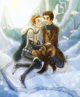 atlantis inspired klaine by miryah