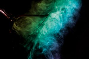 Smoke in a Glass: Colorized by lifeinedit