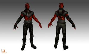 Darth Maul - color revised by guugoo