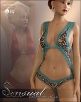 Sensual for Lace Teddy G3 by cosmosue