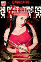 Elektra Cover cosplay art by Envyus-cosplayer