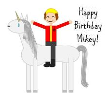 Happy Birthday Mikey by ToxicSkeleton