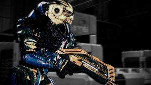 Mass Effect 2: Garrus Vakarian by Cerrydd