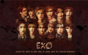 Exo Horror Wallpaper by KpopGurl