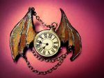 steampunk bat pin by maria-ana-m