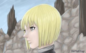 Clare, Claymore by VertaMoltke