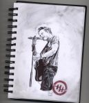Hunter Hayes (pen) by FTLOArt
