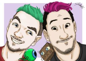 Jack and Mark by Isnabel