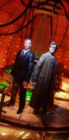 The Doctor and The Master by SizGarfin