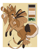 Palette Adoptable: SewnMonstrosity (1/2) by Espherio