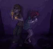scared of the dark by MottInThePot