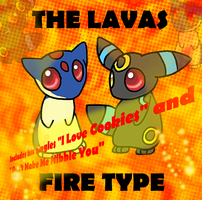 ''The Lavas'' Album Cover by BudCharles