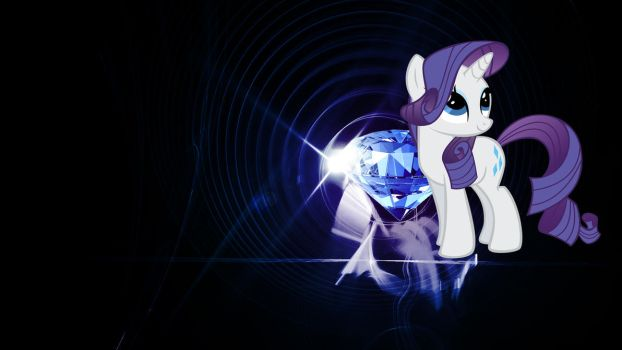Rarity (Wallpaper) by Hardii