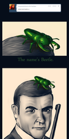 James Bond Beetle [request] by karidyas