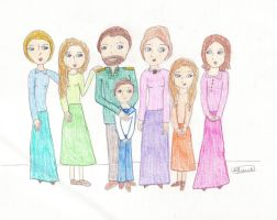 A Romanov Family Portrait by ajhistoric2