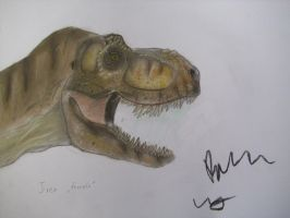 TLW female Tyrannosaurus by Teratophoneus