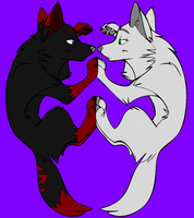 Inu and kinai. You Are My Reflection by inukurosaki