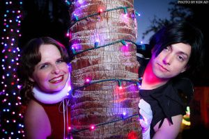In the Christmas tree by nessabutterfly