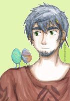 ROTG: Easter Bunny (Personification) by melofarce