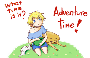aventure time by thaty-sama
