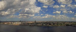 View from Tv building in Riga by edips