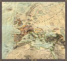 Europe in 600 by JaySimons