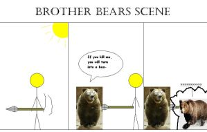 Brother bears remake scene1 by Weirddudeguy