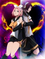 Sasusaku: Electric Dream by annria2002