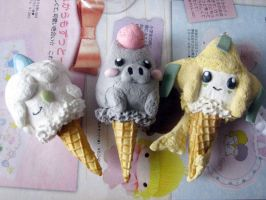Pokemon Ice Creams by KeoDear