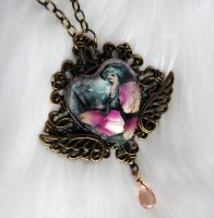 Heart Swing Necklace by OphanimGothique