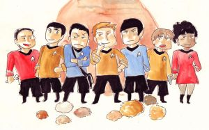 TOS crew by imabubble