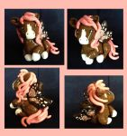 OOAK Butterfly Pegasus Polymer Sculpture by IcyPanther1
