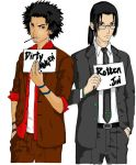 Mugen and Jin by Smiley-122