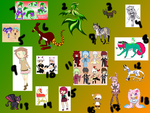LovelyAdoptables --- Adoptables Collab by slemire