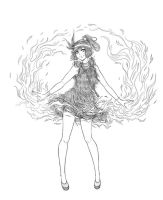 Korra- 1920s Flapper fashion by Roots-Love