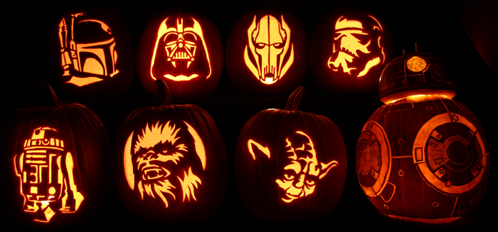 Star Wars Pumpkin Madness by johwee