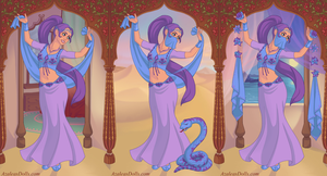 Sassy Dragon -  Indian Belly Dancer form by SassyDragon18