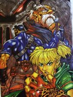 BattleChasers by chrisxart